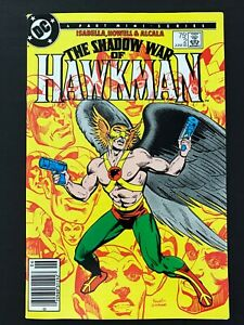 SHADOW WAR OF HAWKMAN #2 DC COMICS 1985 VF+ NEWSSTAND EDITION