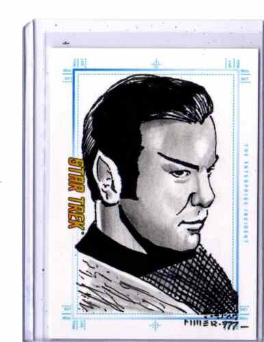 Star Trek Portfolio Prints sketch The Enterprise Incident by Steven Miller #2