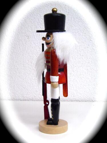 Nussknacker Nussknacker Nutcracker Soldat farbig bemalt 18 cm groß 30111