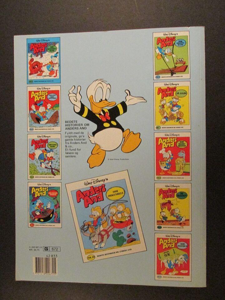 Tegneserier, Walt Disney´s. Anders And : Mit liv i en