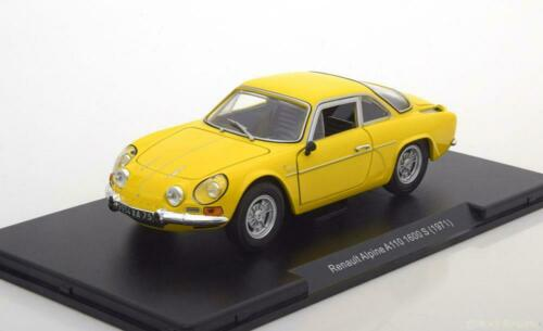 1:24 Leo Models Renault Alpine A110 1600S 1971 yellow