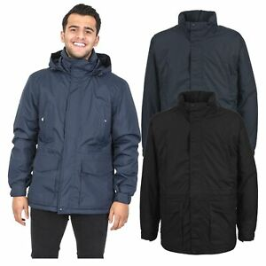 Trespass-Mens-Winter-Jacket-Padded-Waterproof-Insulated-Coat-in-Navy-Black