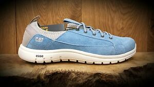 656c24c89dd Image is loading Caterpillar-CAT-Swain-Womens-Blue-Dusk-Trainers-REDUCED-