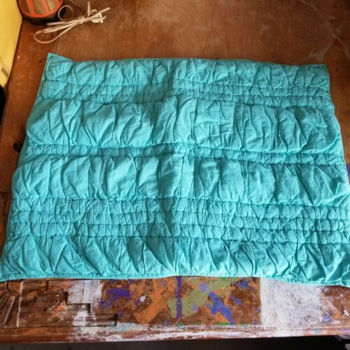 """Pottery Barn Teen /""""Pool Runched/"""" Quilted Standard Sham"""
