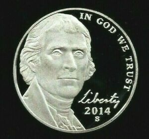 2014 S Jefferson Nickel Deep Cameo Gem Proof