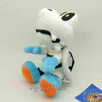 "New Super Mario Bros. Dry Bones Plush Doll Stuffed Toy 6"""