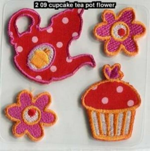 17 DESIGN Girl Boy Decorative Iron Or Sew On Motifs Clothe Costume Patch Bag Etc
