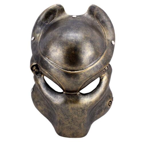 Predator Mask Aliens vs Predator Movie Halloween Deluxe Adult Costume Accessory