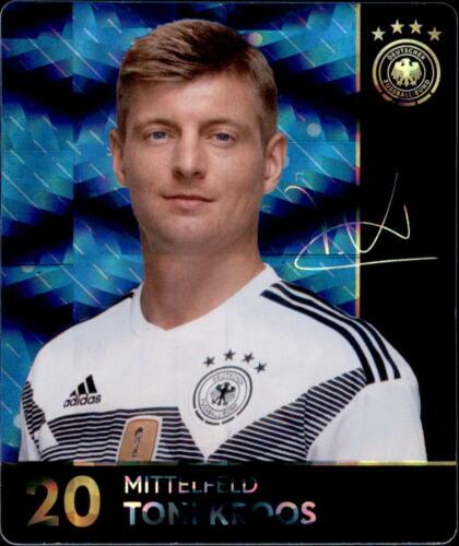 Rewe WM 2018 tarjetas de colección 20-toni kroos brillo