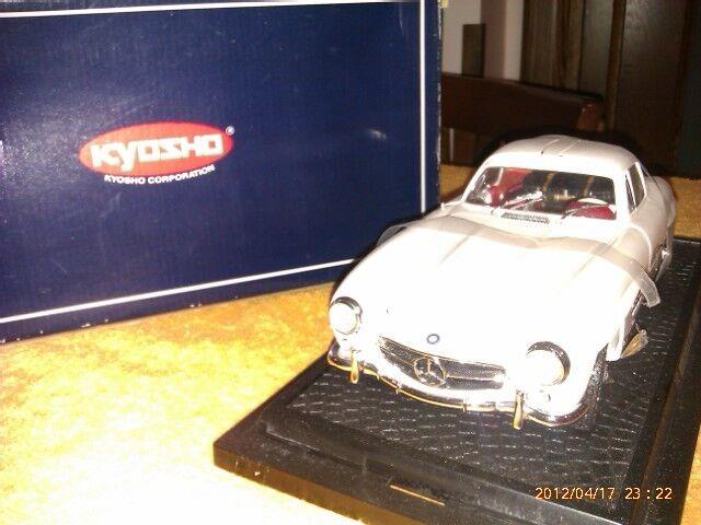 Kyosho Mercedes Benz 300 sl 1 18 blanc nuova