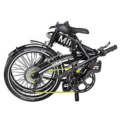 Original MINI Folding Bike Klapprad Faltrad Fahrrad Schwarz Rad faltbar Black