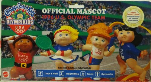 Cabbage Patch Kids Olympikids Official Mascot 1996 Vintage