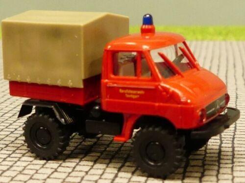 1//87 Brekina Unimog 411 Feuerwehr Stuttgart SONDERPREIS 6,99 Reinhardt ...