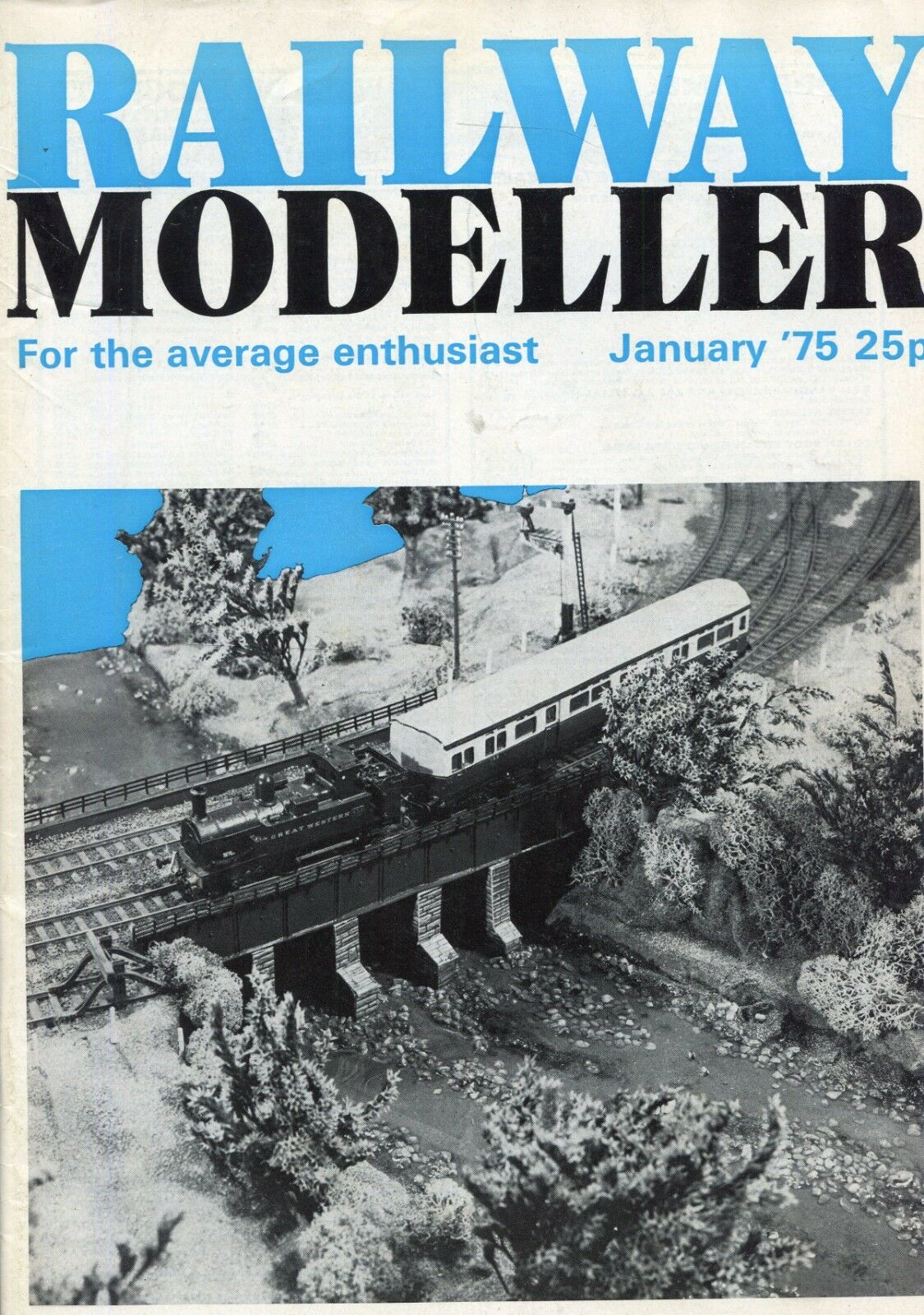 Railway Modeller Magazine  January 1975  Miscellaneous Buildings