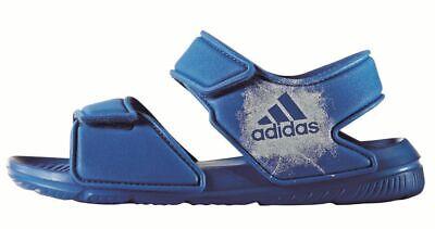 Adidas Altaswim C Kinder Badesandale Badeschuhe Kids Sportschuhe Blau Weiß Elegantes Und Robustes Paket