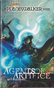 LIBRO-Magic-Planeswalker-Novel-Agents-of-Artifice-ARI-MARINEL-JACE-SOFTCOVER