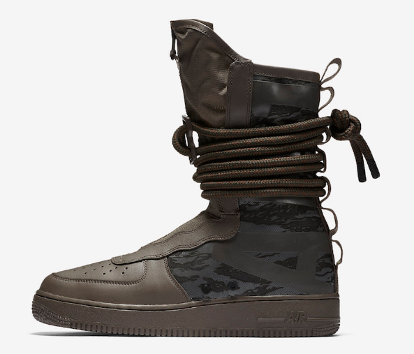 6ed7da668a6 New Nike SF Air Force 1 Hi Ridgerock/Black-Sequoia Special Field Boots  (AA1128 2