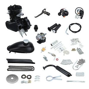 80cc-Gas-Moteur-Motorisierte-Fahrrad-Benzin-Hilfsmotor-Bike-Engine-Kit-2-Takt