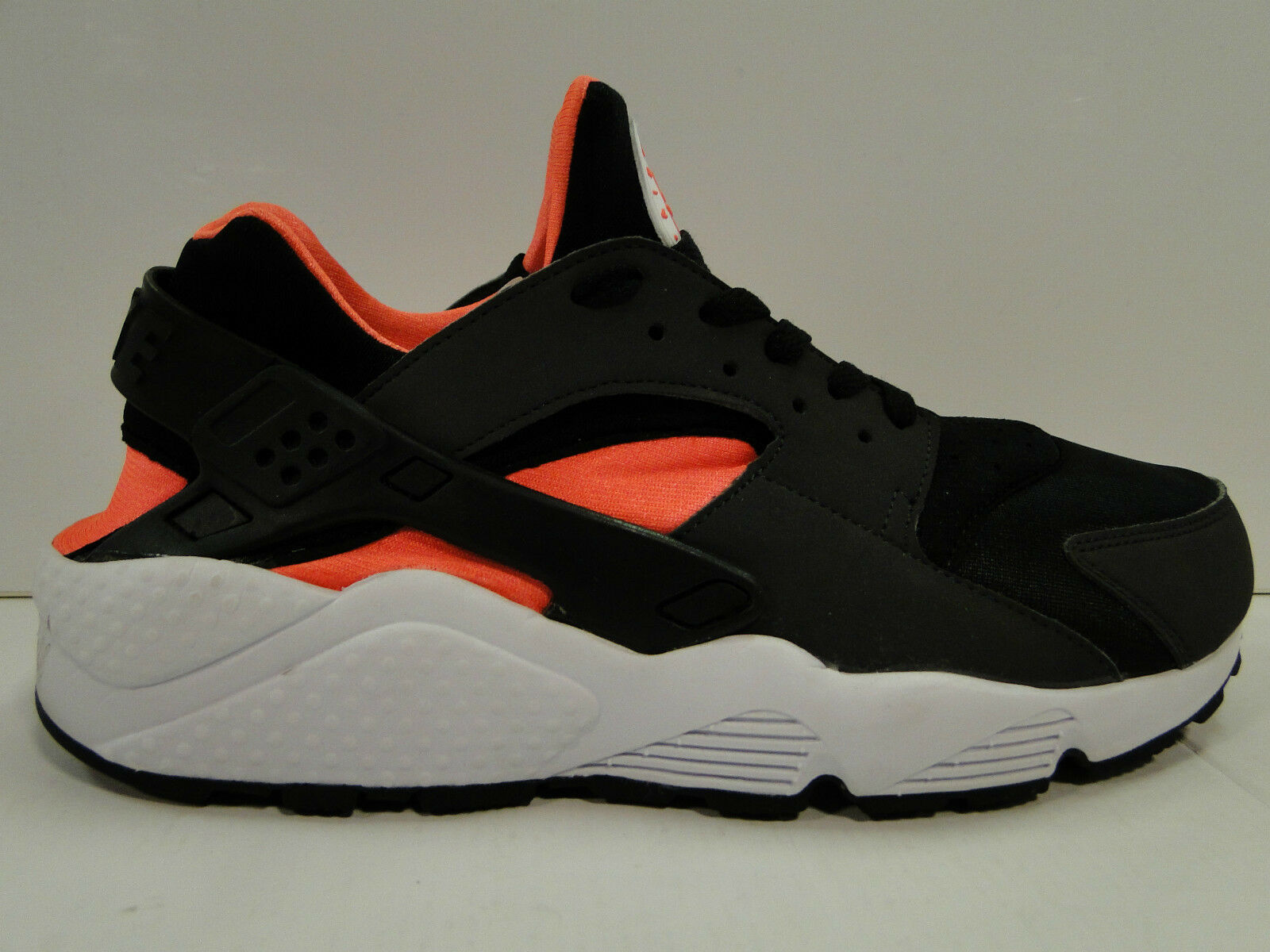 NIKE AIR HUARACHE Blk Total Orange Anthracite homme fonctionnement Trainers  318429/081