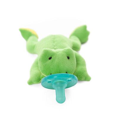 NEWWubbaNub Green Frog Pacifier FREE SHIPPING