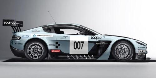 2012 ASTON MARTIN VANQUISH GT3 CAR POSTER PRINT 18x36 HI RES 9MIL PAPER