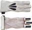 thumbnail 4 - 3 Finger American Archers Leather Right Hand Glove in 3 colors And In All Sizes