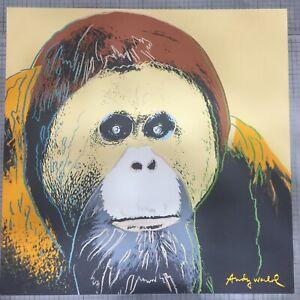 Andy Warhol Litografia Lenox Museum  cm 60x60 con certificato di autenticita/'