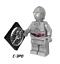 LEGO-Star-Wars-Minifigures-Han-Solo-Obi-Wan-Darth-Vader-Luke-Yoda-Fox-Rex-R2D2 thumbnail 33