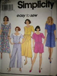 Simplicity-Sewing-Pattern-8353-Misses-Ladies-Two-Piece-Dress-Skirt-Size-6-12-UC