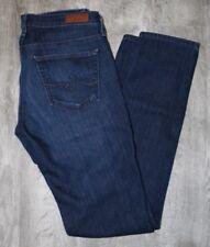 AG Adriano Goldschmied Blue Cotton The Stilt Cigarette Leg Jeans Size 26