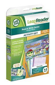 2019 Nouveau Style Leapfrog Leapreader Activity Book Set: L'écrire! Talking Words Factory 4-8 Ans-afficher Le Titre D'origine La DernièRe Mode