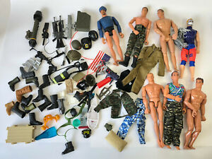 1990-s-12-Action-Man-Figure-Doll-Weapons-Accessories-GI-Joe-M-amp-C-Formative-Lot-3