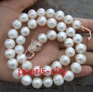 HUGE-AAA-11-13MM-NATURAL-SOUTH-SEA-WHITE-PEARL-NECKLACE-18-INCH