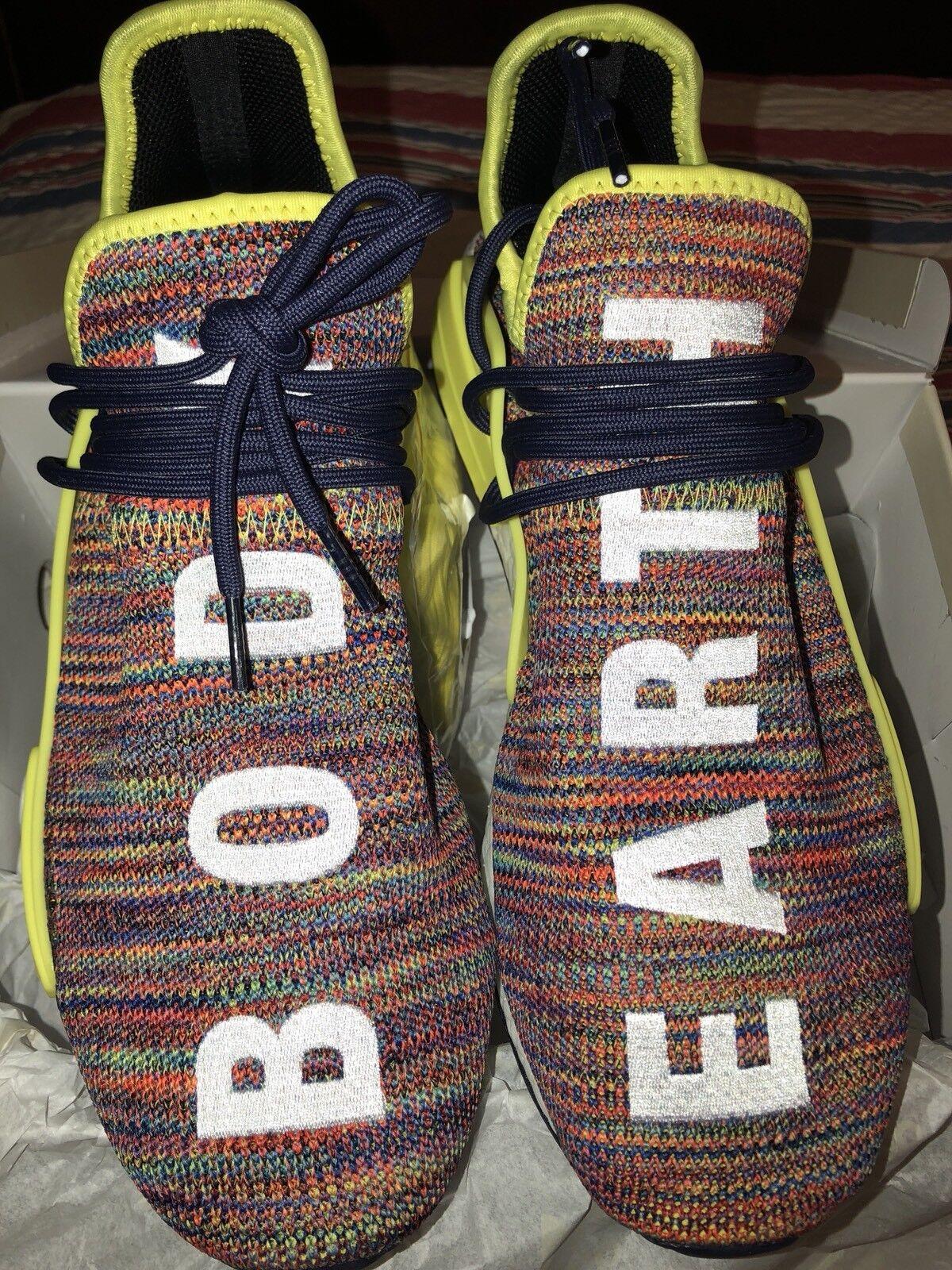 Adidas Pharrell Williams PW Human Race NMD TR AC7360 Bold Yellow/Noble Ink Sz 11