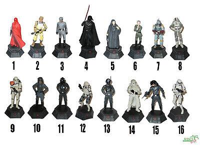 STAR WARS Schach Figuren von DeAGOSTINI, Schachfigur 1:24, METALL, Imperium