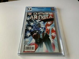 CAPTAIN-AMERICA-34-CGC-9-8-WHITE-PAGES-COOL-RED-WHITE-BLUE-COVER-MARVEL-COMICS