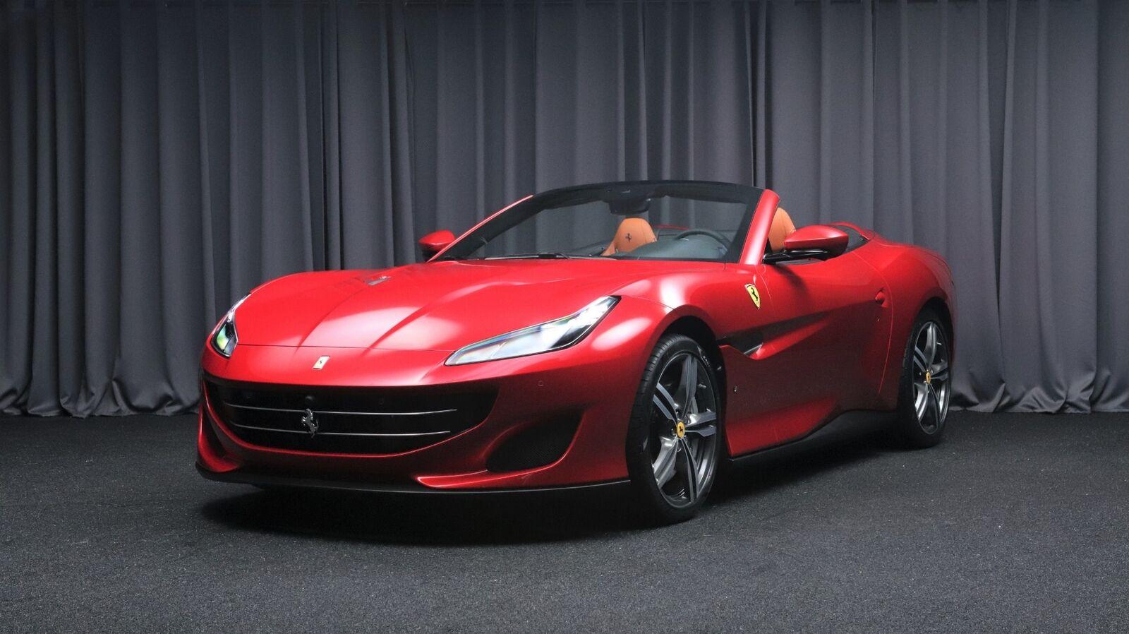 Ferrari Portofino 3,9 DCT 2d - 1.678.500 kr.