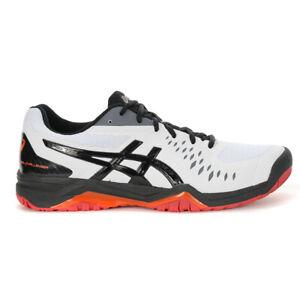 ASICS Men's Gel-Challenger 12 White/Black Tennis Shoes 1041A045.114 NEW