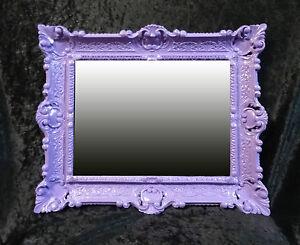 Pareti Viola E Lilla : Specchio da parete retrò antico barocco in stile rinascimento