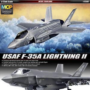 1-72-USAF-F-35A-LIGHTNING-II-12507-ACADEMY-HOBBY-MODEL-KITS