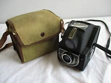 Vintage Box Camera & Case - Ensign Ful-Vue