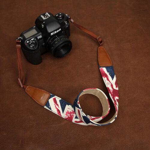 Cámara SLR Union Jack patrón Denim Cam-in D Correa CAM7157Reino Unido bandera británica