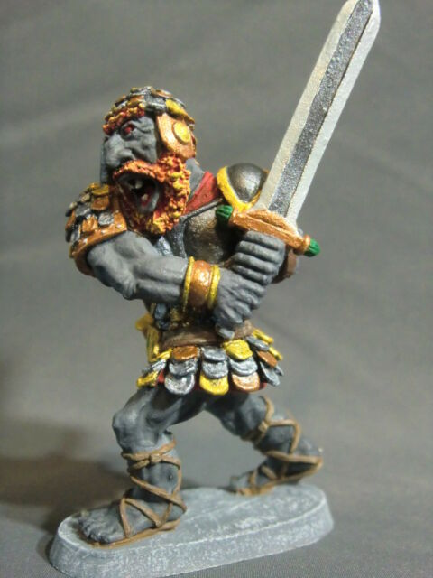 D&D Miniature Fire Giant Ral Partha - Stunningly Painted by Ken Longacre