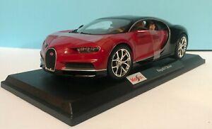 Maisto-2020-Bugatti-Chiron-Special-Edition-1-18-31712-Estilo-Exclusivo