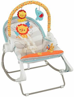 Fisher Price Fisher-price 3-in-1 Swing N Rocker Baby Rocker Bouncer Bn