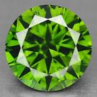 FIERY 1.46 Cts SPARKLING FANCY BEST GREEN COLOR NATURAL LOOSE DIAMONDS