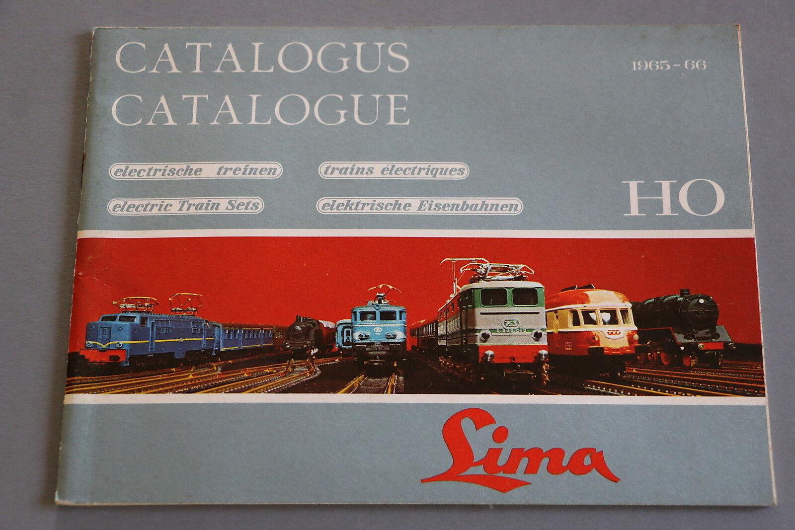 X189 train lima oh 1965 catalogue 1966 36 pages 2114,7 cm f deutsch