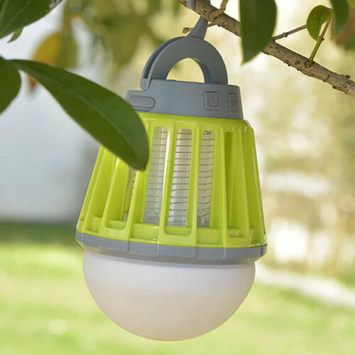 Smart Lantern 2-in-1 Electronic Mosquito Killer LED USB Power Lamp KILNEX