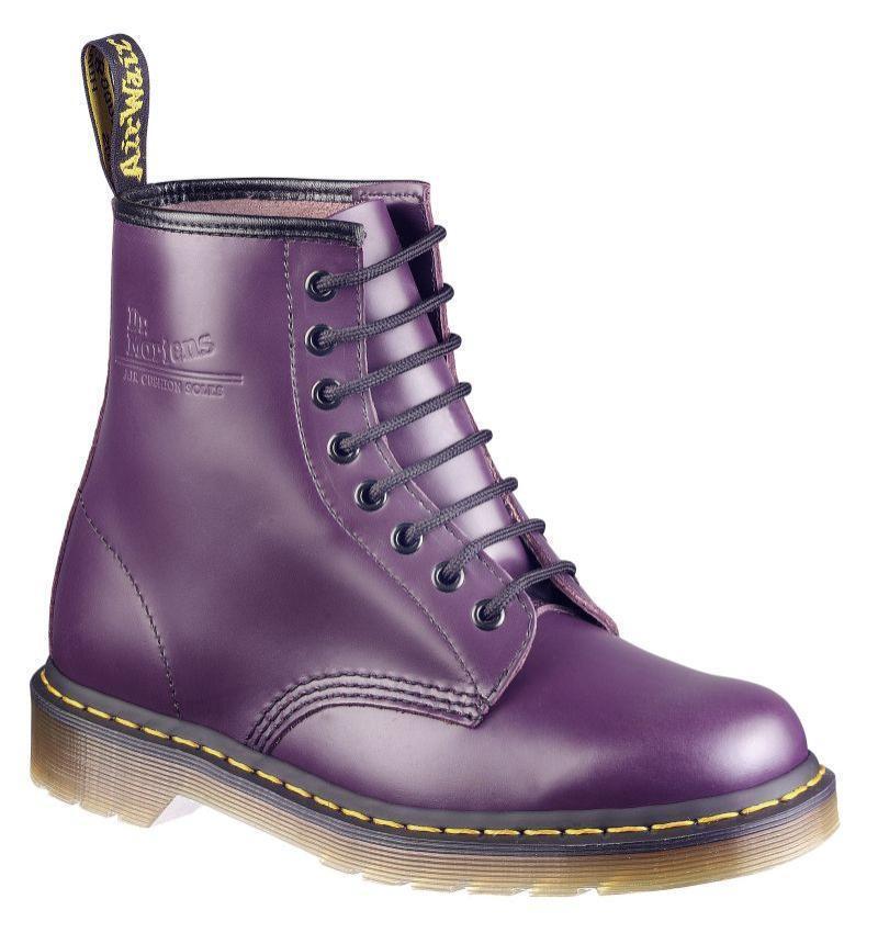 Dr Martens doc 8 agujero 1460 Purple 11821500 el original