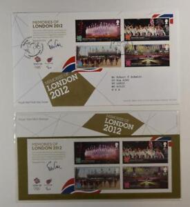 2012-ROYAL-MAIL-PRESENTATION-FOLDER-OLYMPICS-AND-PARALYMPICS-amp-FDC-LOT-407